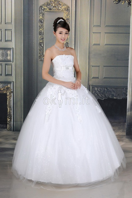 bf4e7156f870 Abiti da principessa sposa