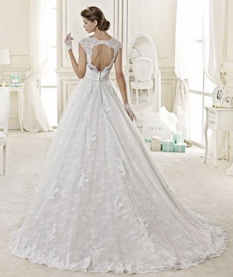 Abiti da sposa haute couture 2015 Rosa Clarà modello Serge abito da ...