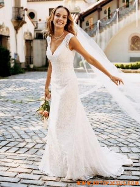 abito da sposa in pizzo francese idee da copiare foto