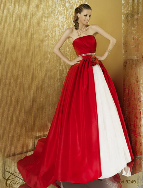 Abiti In Rosso » Abiti da sposa rosso. Abiti da cerimonia atelier ... 10712435593