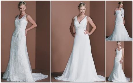 Abiti da sposa lunghi e avvitati con richiami ai modelli in stile ...