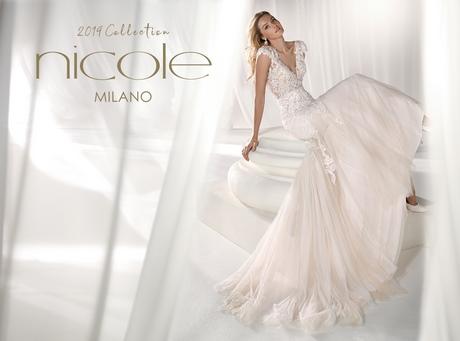 2019 Abiti Collezione Sposa Nicole Da TclK1JF