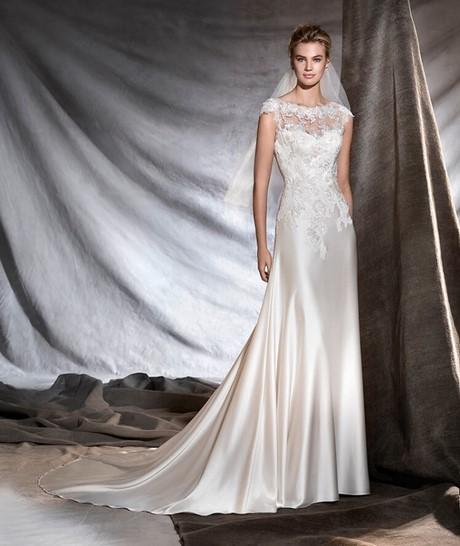 """1625a9eecbbb Graziana Valentini – Valentini Spose G0040 MAIA. Pronovias   la collezione  """"classica"""" 2017 di abiti da sposa …"""