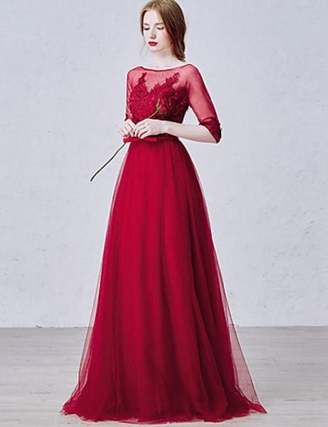 online store dddf4 90faf Vestito damigella rosso