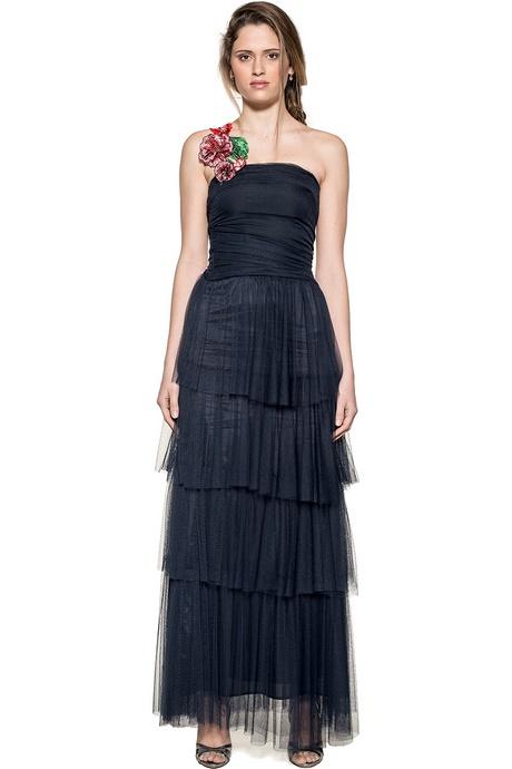 new product a9a43 6c92a Pinko abito lungo nero