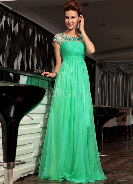 pretty nice 60acb 2cb13 Vestito elegante verde