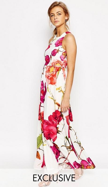 low priced ec9c0 bb2b6 Vestiti a fiori eleganti
