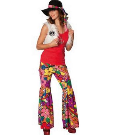 hot sale online e9da1 8c425 Vestiti hippie anni 70