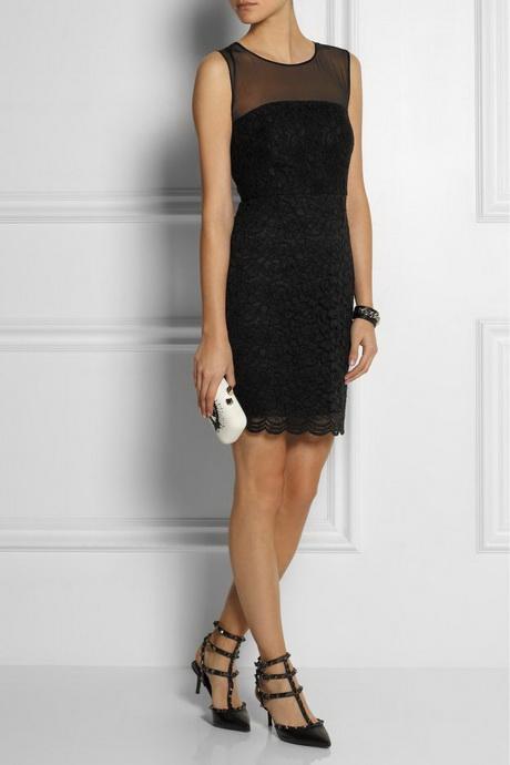quality design 50535 146e5 Vestito in pizzo nero accessori
