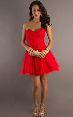 new product 89a0c 93420 Vestito rosso estivo