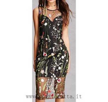 310ba1fa65b1 Miglior pizzo a comprare Vestiti a fiori Wyldr Float On amazon Floreale  Neri VESTITO THADY manzara ingrandisci