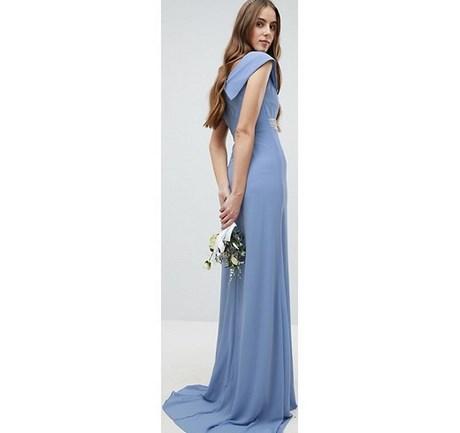 on sale eb162 d4b27 Blu Vestito Lungo Lungo Vestito Vestito Elegante Lungo ...