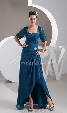 Amazon.it  abiti da cerimonia taglie forti donna. Donna Vestito Maxi Pizzo  ... e4b2e8dce19