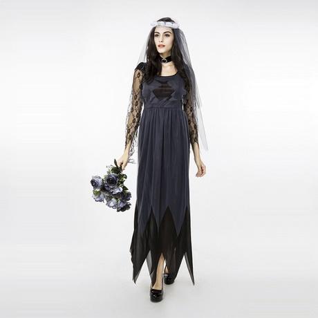 ec7727a24883 NUOVO Arrivo donne Sexy Del Merletto della maglia La Sposa Cadavere sposa  Fantasma costume abbigliamento halloween Vestito di un pezzo insieme  uniforme in …