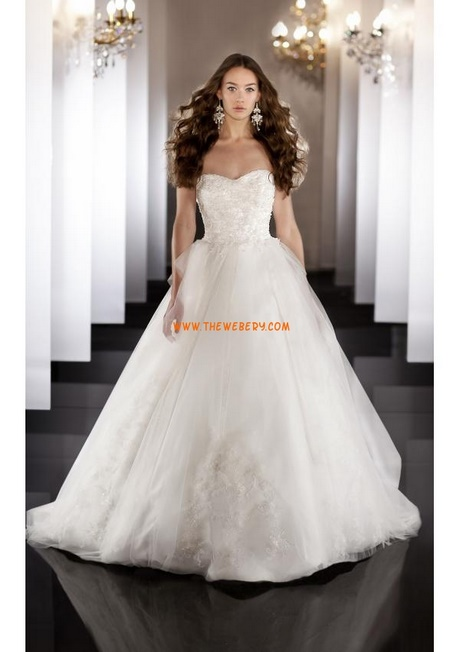 84a5f4f2fe47 moderna applique stile principessa abito da sposa organza 20.