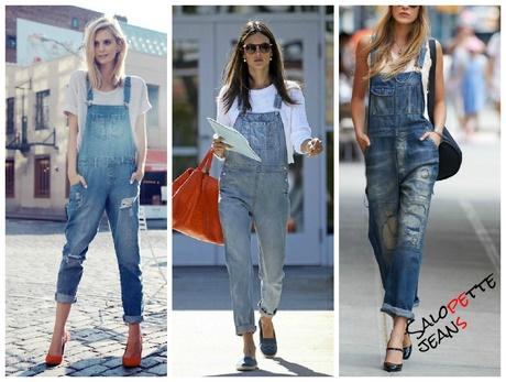 wholesale dealer 3c777 c9c8f Tuta di jeans donna